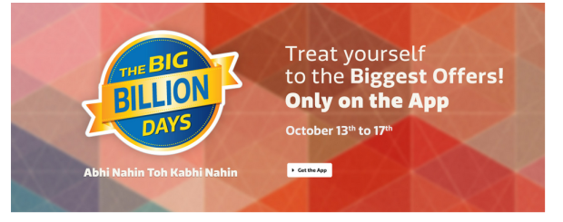 Flipkart The Big BILLION Day Sale 2015